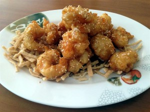 Honey Prawns (Medium)